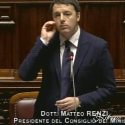 Renzi: Il compito dell'Italia è costruire ponti