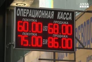 Non basta rialzo tassi, rublo in caduta