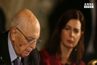 Napolitano: avanti senza stop su riforme