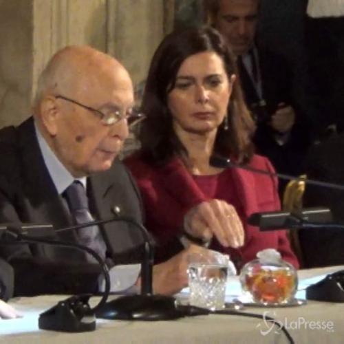 Crisi, Napolitano: Inversione tendenza nel 2015 solo se ...