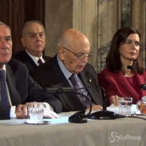 Napolitano: Con consenso a Pd a Europee accresciuto peso ...