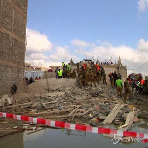 Kenya, ecco cosa resta di un edificio di 5 piani crollato   ...