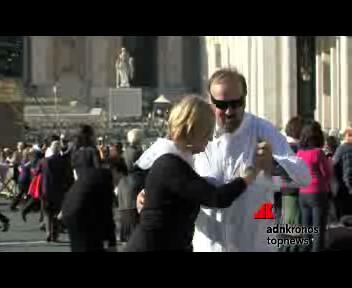 Una milonga in piazza San Pietro, centinaia di tangheri per ...
