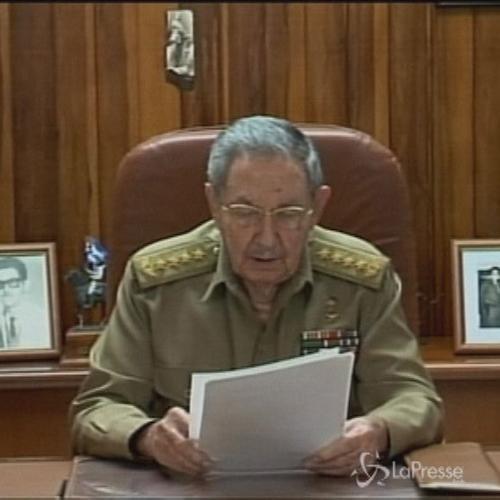 Il discorso di Castro: Riapriamo le relazioni diplomatiche, ...