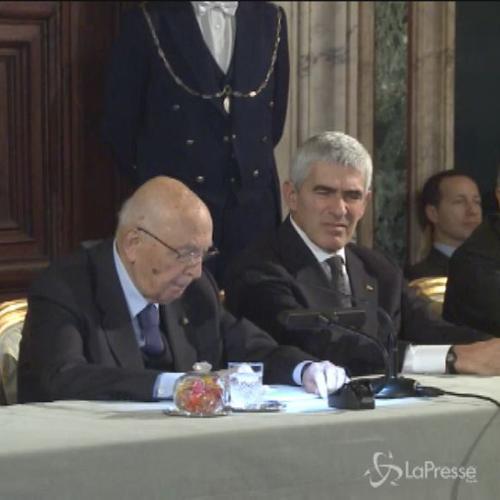 Napolitano: Fine imminente del mio mandato