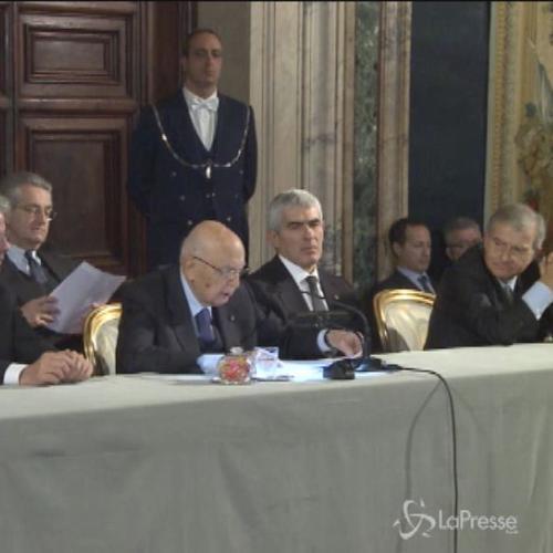 Napolitano: Serve un disarmo verbale per scongiurare il ...