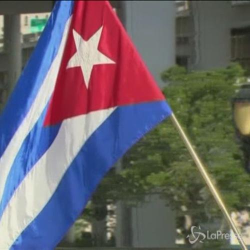 Centinaia di cubani-americani in protesta a Miami contro ...