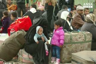 In coda da Gaza a Betlemme