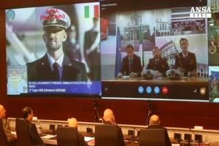 Napolitano saluta Maro', problema insopportabile