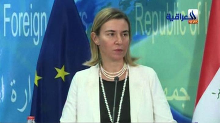 Mogherini a Baghdad: Ue al fianco dell'Iraq nella lotta ...