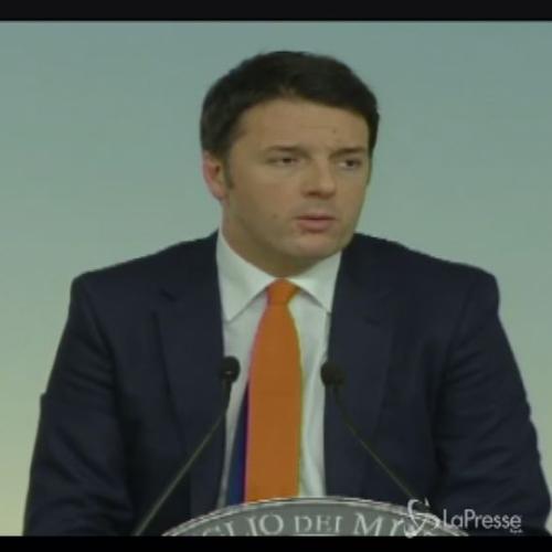 Jobs Act, Renzi: passi avanti strepitosi, mi assumo mie ...