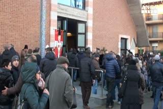 Duecento persone al funerale del tabaccaio ucciso ad Asti   ...