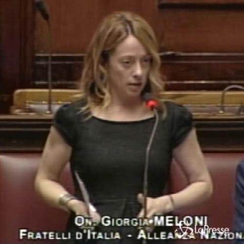 Pensioni, Meloni: Troppo penalizzato chi va col contributivo