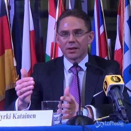 Katainen: Jobs act aiuterà i giovani a trovare lavoro, cosa giusta da fare