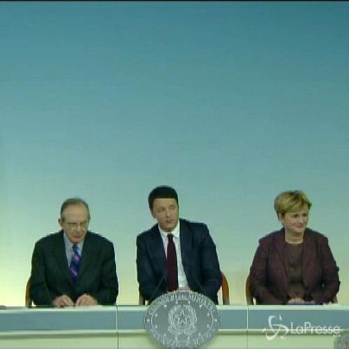 Banche, Renzi: Giornata storica, 10 grandi popolari diventano Spa