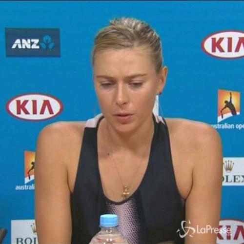 Tennis, Sharapova: E' stata dura, vittoria che mi dà ...