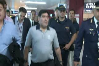 Diffamo' Equitalia, Maradona nei guai