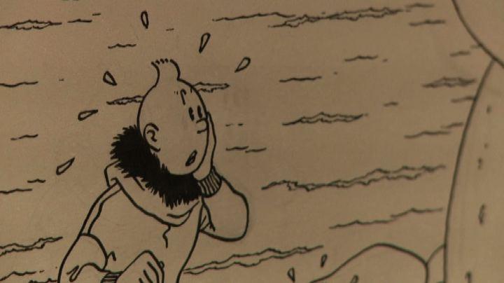 Una copertina del fumetto Tintin all'asta per 2,5 mln euro  ...