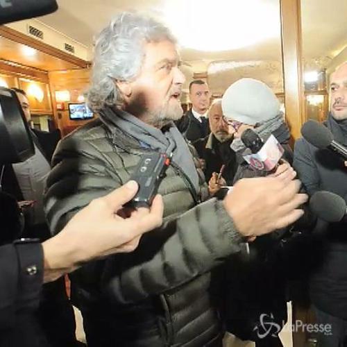 Quirinale, Grillo: â??Tra le proposte sceglierà la ...