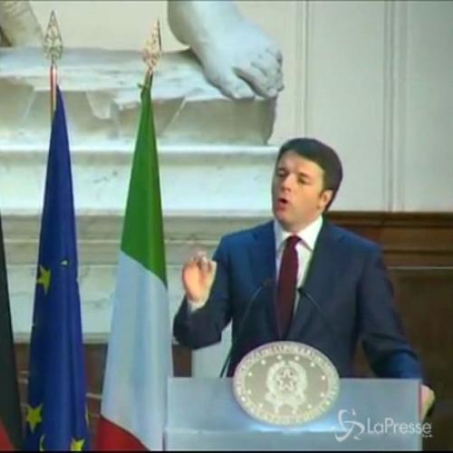 Riforme, Renzi: Italia metta il turbo, Qe no alibi per ...