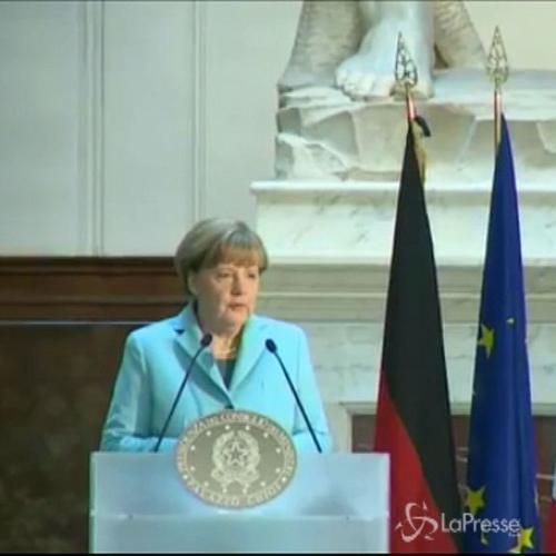 Merkel: Riforme Renzi non dettate da Ue, imprenditori ...