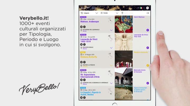 """""""VeryBello"""", online tutta l'offerta culturale di Expo 2015  ..."""