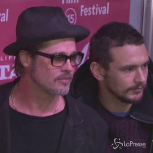 I sex symbol James Franco e Brat Pitt insieme al Sundance ...