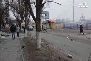 Ucraina in fiamme,strage a Mariupol,i ribelli attaccano     ...