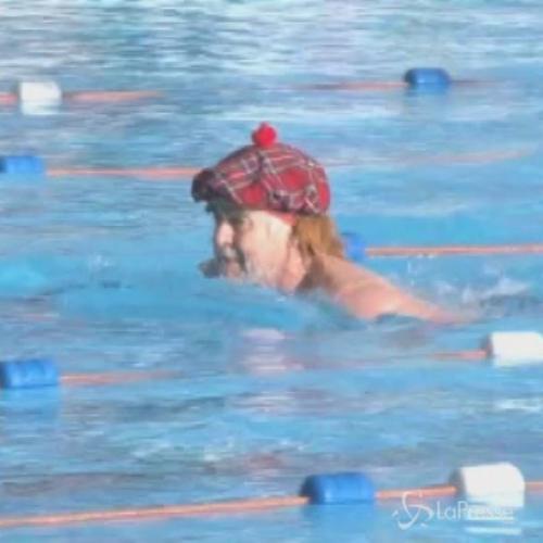 A Londra la gara di nuoto più pazza del mondo: in acqua ...