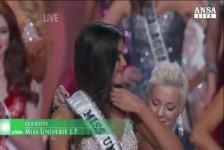 Miss Universo e' la colombiana Paulina Vega