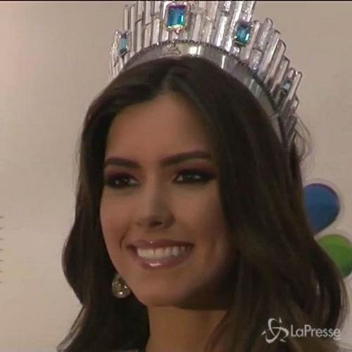 La colombiana Paulina Vega è la nuova Miss Universo