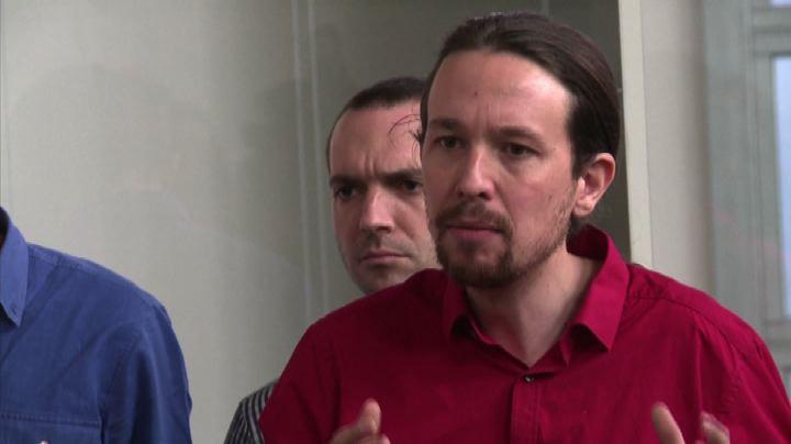 """Il leader di Podemos: con Tsipras """"un nuovo europeismo""""     ..."""