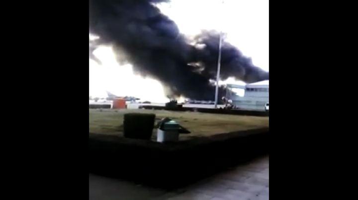 In Spagna F-16 si schianta in base Nato: 10 morti