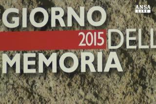Giornata della Memoria, Stele alle vittime di Parigi