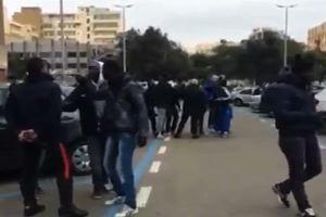 Tensione a Cagliari tra parcheggiatori abusivi e carabinieri