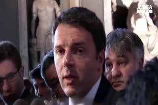 Colle: Renzi consulta e aspetta il Cav