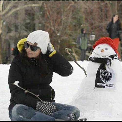 New York torna alla normalità: bufera di neve meno intensa ...