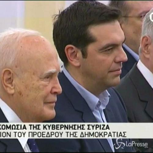 Oggi il primo Consiglio dei ministri del governo Tsipras    ...