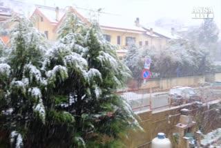 Neve e temperature in picchiata in Calabria