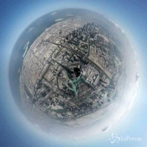 Il suggestivo timelapse della città di Dubai dal ...