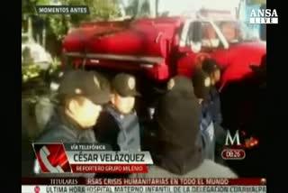 Messico: camion gas esplode davanti a ospedale bimbi