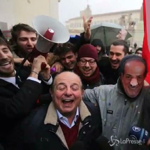Quirinale, flash mob per 'Magalli Presidente': 'chi non ...