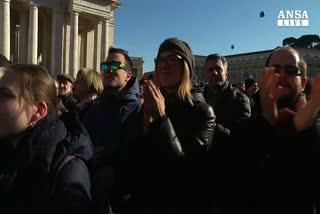 Eurispes: popolarita' Papa al top