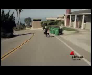 Il 'Valentino Rossi' dello skateboard