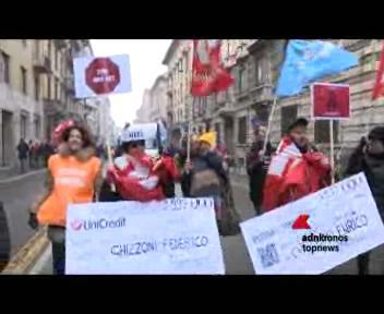 Bancari in sciopero, pronti a scendere nuovamente in piazza ...