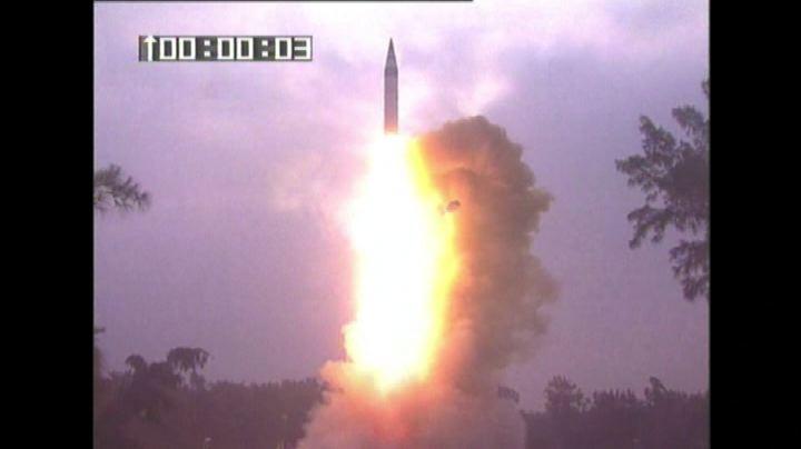 """L'India testa """"Agni"""", missile che può colpire la Cina - ..."""