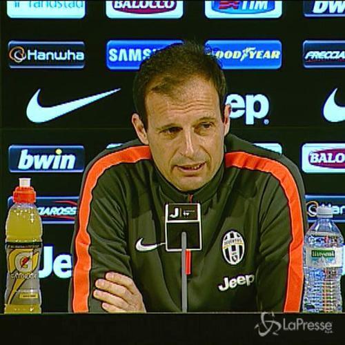 Allegri: Udinese ostico, ma Juve in campo per vincere