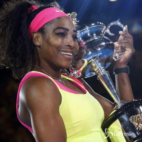 Serena Williams trionfa agli Australian Open, Sharapova ko  ...