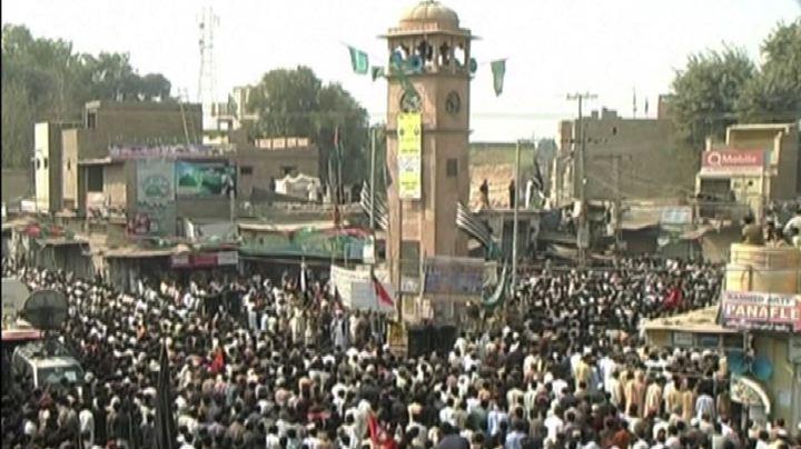 Pakistan, i funerali delle vittime della strage nella ...