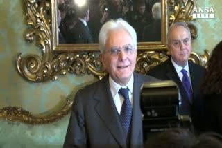 Mattarella riceve annuncio, il 3 febbraio giura